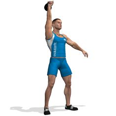 SNATCH KETTLEBELL ONE ARM INVOLVED MUSCLES DURING THE TRAINING GLUTES