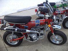 Honda CT70 Motorcycle