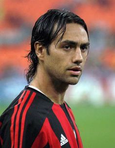 Alessandro Nesta - former AC Milan defender Dream Team Football, World Football, Football Soccer, Handsome Italian Men, Alessandro Nesta, This Is Anfield, Soccer Photography, Ac Milan, Soccer Pictures