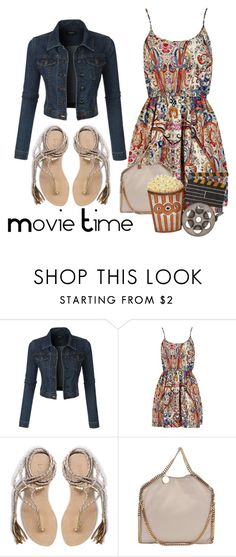 """Movie Time"" by conch-lady ❤ liked on Polyvore featuring LE3NO, L*Space, STELLA McCARTNEY and Dot & Bo"