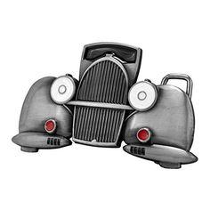 b4a7d0d98ea3 Buy Buckle Rage Adult Unisex Classic Car Antique Truck Automobile Belt Buckle  Silver - Topvintagestyle.