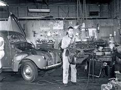 'Rocket' Olds engine