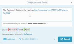 Incrementa el alcance de tus tweets gracias a RiteTag