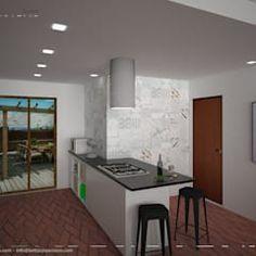 Lirowa industrialna kuchnia od kodo projekty i realizacje wnętrz industrialny   homify Industrial Style Kitchen, Kitchen Styling, Kitchen Design, Interior Design, Table, House, Design Ideas, Inspiration, Furniture