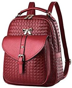 Cheap backpack shoulder bag, Buy Quality designer leather backpack directly from China fashion leather backpack Suppliers: Backpack female models 2018 latest design pu leather backpacks luxury women backpack fashion shoulder bags for women Black Leather Backpack, Pu Leather, Leather Backpacks, Fashion Bags, Fashion Backpack, Fashion Women, Style Fashion, Backpack Brands, Backpack 2017