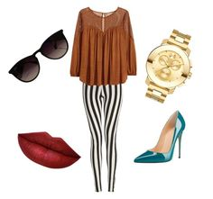 """""""Untitled #8"""" by sergiobperes ❤ liked on Polyvore featuring H&M, Movado and Ray-Ban"""