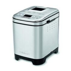 Cuisinart Compact Automatic Bread Maker Silver - Bread Machine - ideas of Bread Machine - Cuisinart Compact Automatic Bread Maker Silver Price : Best Bread Machine, Bread Maker Machine, Bread Machine Recipes, Bread Machines, Bread Recipes, Pan Bread, Bread Baking, Baking Pan, Cuisinart Bread Machine Recipe
