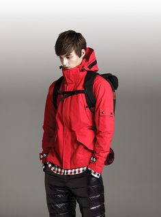 The North Face Fall/Winter 2011. Can`t identify the jacket any further but I WANT it.