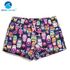Gailang Brand Women Shorts Boardshorts Swimwear Swimsuit Woman new Boxer Trunks Quick Drying Board Shorts Bottoms