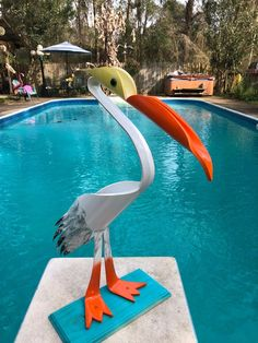 Your place to buy and sell all things handmade Pvc Pipe Garden Ideas, Metal Garden Art, Pvc Pipe Crafts, Pvc Pipe Projects, On The Beach, Tire Furniture, Drainage Pipe, Hydro Dipping, Design Digital