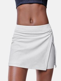 Court Skort – Outdoor Voices Sporty Outfits, Modern Outfits, Fashion Outfits, Women's Fashion, Workout Attire, Workout Outfits, Sports Crop Tops, Workout Capris, Athletic Wear