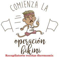 Recopilatorio de recetas thermomix: Operación bikini con thermomix (Recopilatorio)