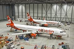 Air Berlin Technik Aircraft Maintenance, Berlin, The Past, Engineering, Airports, Airplanes, Planes, Technology