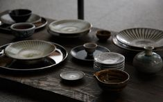 I love Japanese tableware.  So deep. From MUJI
