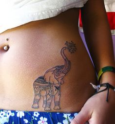 50 Coolest Elephant Tattoos Ideas For Girls | Ink Tattoo Art