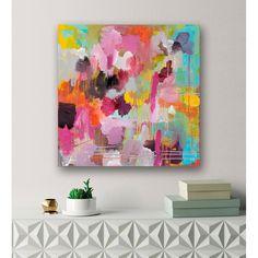 Large Canvas Art, Abstract Canvas Art, Diy Canvas Art, Wall Canvas, Large Art, Bright Abstract Art, Bright Art, Hand Painted Canvas, Bright Paintings