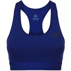 406e41d4c244d adidas Alphaskin Sports Bra (105 BRL) ❤ liked on Polyvore featuring  activewear