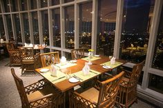 Chef Jessie 100 Revolving Restaurant. Fine dining restaurant with a twist! Located at Eastwood.