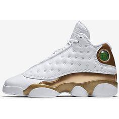 hot sale online 30c41 38e10 Air Jordan XIII XIV DMP Big Kids  Basketball Shoe Pack. Nike.com ( 350) ❤  liked on Polyvore featuring shoes