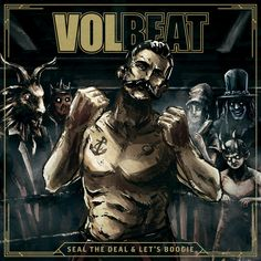 """""""The Devil's Bleeding Crown"""" by Volbeat was added to my GymShT playlist on Spotify"""