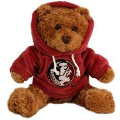 Florida State Seminoles (FSU) Hoody Talking Plush Bear