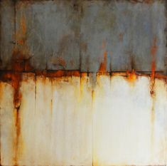 """art journal - expression through abstraction — Cody Hooper, """"Beneath the Surface"""", mixed media Contemporary Abstract Art, Abstract Landscape, Landscape Paintings, Contemporary Artists, Art Actuel, Encaustic Art, Art Moderne, Abstract Expressionism, Painting Inspiration"""