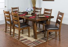 Tuscany Dining Table Set   Sunny Designs Furniture   Home Gallery Stores