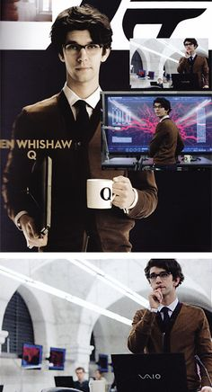 Ben Whishaw-My Q...this makes the nerd in me squeal and want to do the happy dance