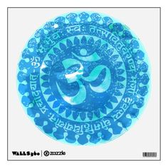 Om decal wall decal
