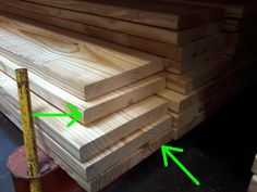 How to Pick Wood at the Lumberyard