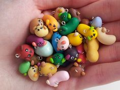 Mameshiba collection  choose 5 charms by geeniejay on Etsy, $12.99