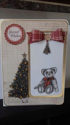 Made with craft work cards Christmas cheer collection.