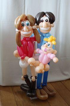 Family Twist Balloon