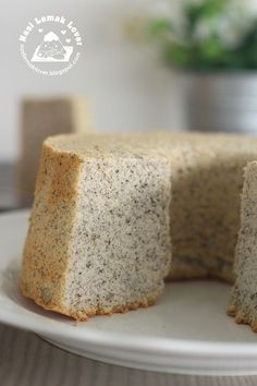 Nasi Lemak Lover: Black Sesame Chiffon Cake 黑芝麻戚风蛋糕