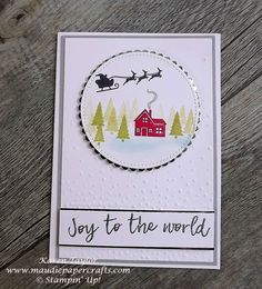Stampin' Up! Hearts Come Home card from Maudiepapercrafts