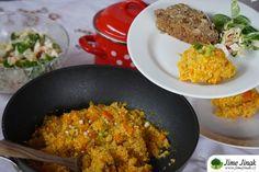 Zázvorové jáhly s dýní Fried Rice, Fries, Ethnic Recipes, Food, Essen, Meals, Nasi Goreng, Yemek, Stir Fry Rice
