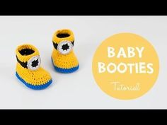 Free Crochet Pattern – Minion Inspired Baby Booties – Croby Patterns