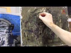 Бесплатный мастер класс живописи Владимира Ильичева - Аттик - YouTube