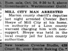 Chester Hoeye 23 Oct 1946