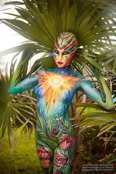 Sunny Body Painting for Art Fashion Studio. by NatashaKudashkina on DeviantArt -. - Sunny Body Painting for Art Fashion Studio. by NatashaKudashkina on DeviantArt – Sunny Body Pain - Art Pop, Girl Artist, Art Girl, Deviant Art, Photographie Art Corps, Tattoo Prices, Human Body Art, Spiderman Cosplay, Poster Design