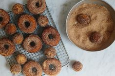 Apple Cider Donut Recipe http://food52.com/blog/8477-apple-cider-donuts #Food52