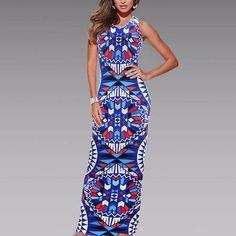 Maxi Dress Summer Bohemian Dress
