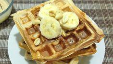 Waffle Proteico de Banana 1