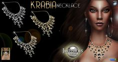 Krabia Necklace at Jomsims Creations • Sims 4 Updates