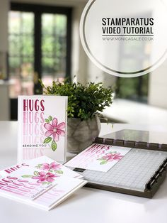 Stamparatus Technique Showcase with Monica Gale #stamparatus, #stampinup #buystamparatus