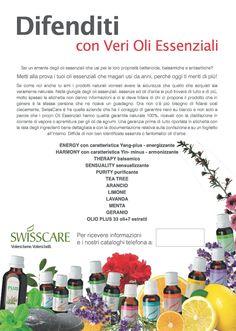 Difenditi con Veri Oli Essenziali - SwissCare