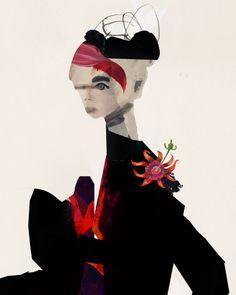 Daniel Egneus Abstract Sketches, Abstract Art, American Gods, Jazz Festival, Penguin Books, Fashion Art, Fashion Drawings, Fashion Illustrations, Art Inspo