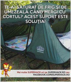 Un tip nou de cort! Scapă de umezeală si frig! - SuperHack.ro Outdoor Gear, Tent, Life Hacks, Store, Tents, Lifehacks