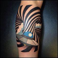"""Share Tweet Pin Mail By Ben Snide By far the most entertaining tattoo designs to look at, 3D-style or """"optical illusion"""" tattoos have taken the ..."""