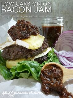 Low Carb Bacon Onion Jam Recipe 2